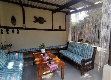 Occi Lodge Lounge area