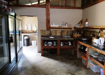 Occi Lodge Kitchen Facilities