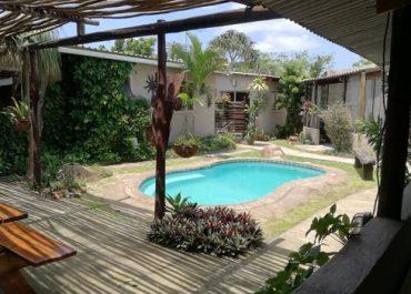 Occi Lodge Pool area