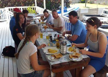 Breakfast After Dives - Aliwal Dive Center