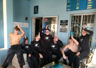 Shark Cage Diving Divers